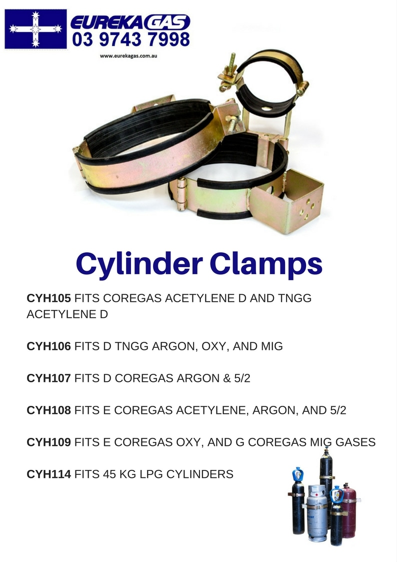 gas cylinder clamps
